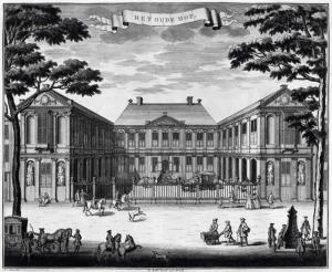 Het oude hof, Den Haag